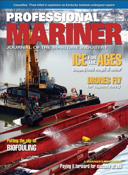 Professional Mariner Cover - 4/1/2018