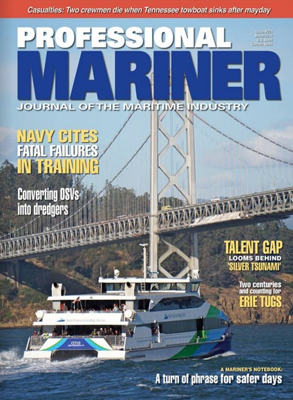 Professional Mariner Cover - 3/1/2018