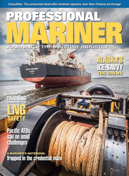 Professional Mariner Cover - 5/1/2018