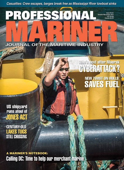 Professional Mariner Cover - 10/1/2017