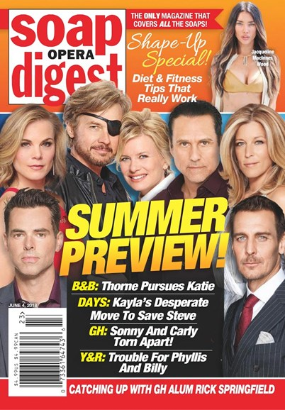 Soap Opera Digest Cover - 6/4/2018