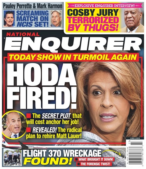 National Enquirer Cover - 6/4/2018