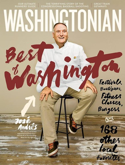 Washingtonian Cover - 6/1/2018
