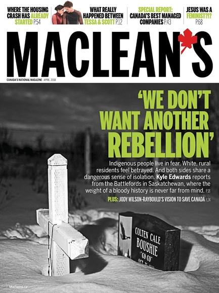 Maclean's Cover - 4/1/2018
