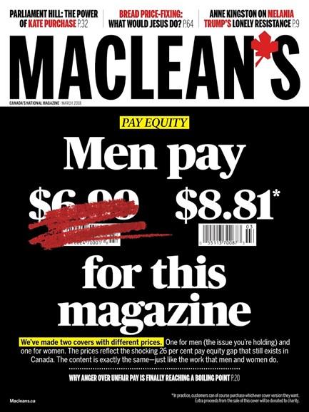 Maclean's Cover - 3/1/2018
