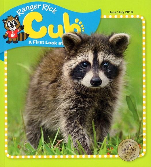Ranger Rick Cub Cover - 6/1/2018