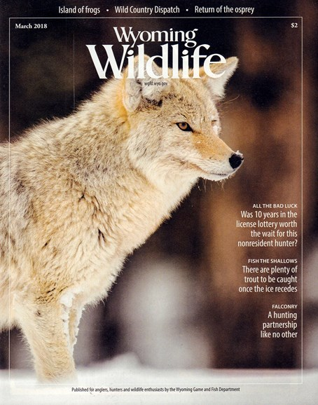 Wyoming Wildlife Cover - 3/1/2018
