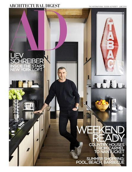 Architectural Digest Cover - 6/1/2018
