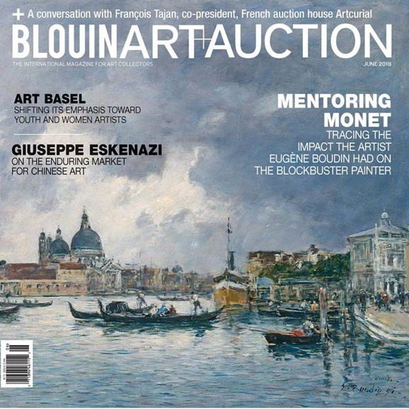 Blouin Art & Auction Cover - 6/1/2018