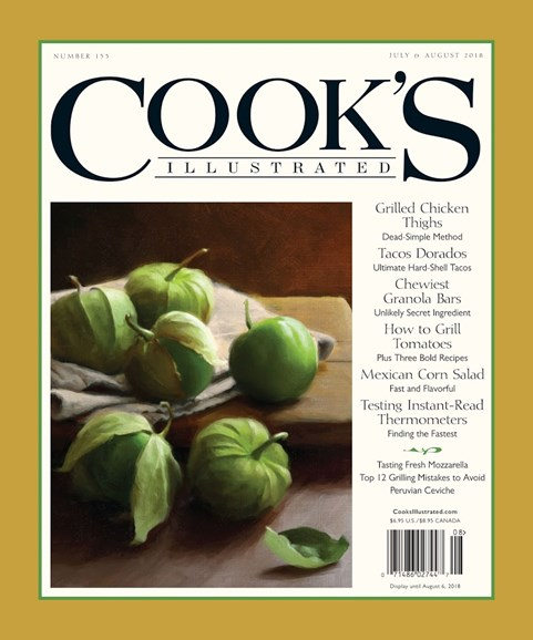 Cook's Illustrated Cover - 7/1/2018