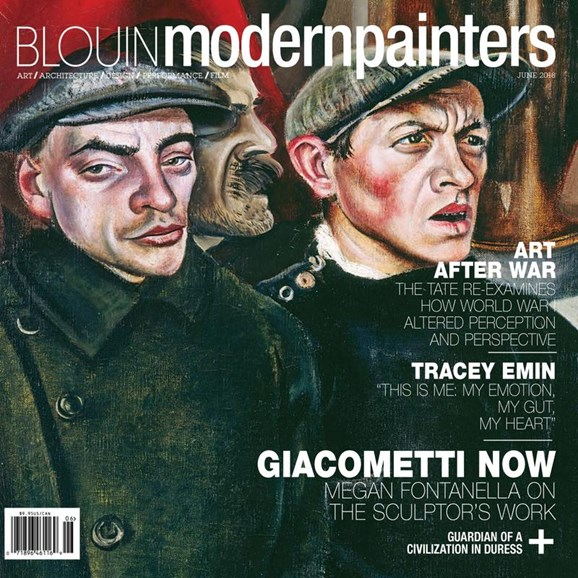 Blouin Modern Painters Cover - 6/1/2018
