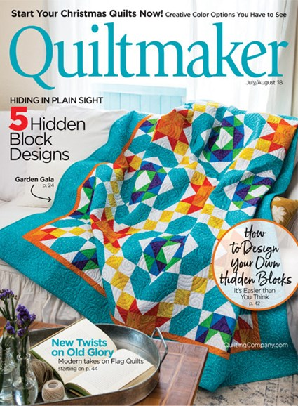 Quiltmaker Cover - 7/1/2018