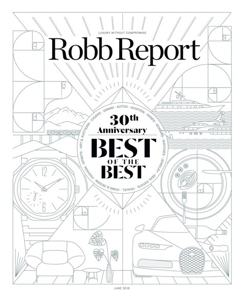 Robb Report Cover - 6/1/2018