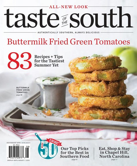 Taste of the South Cover - 7/1/2018