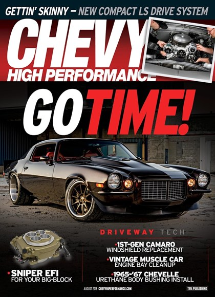 Chevy High Performance Cover - 8/1/2018