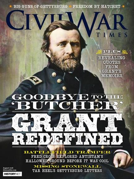 Civil War Times Cover - 8/1/2018