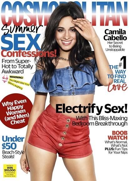 Cosmopolitan Cover - 7/1/2018