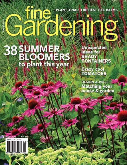 Fine Gardening Cover - 8/1/2018
