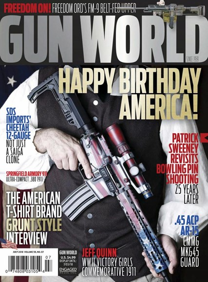 Gun World Cover - 7/1/2018