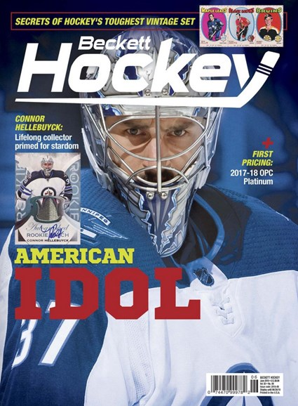 Beckett Hockey Cover - 6/1/2018