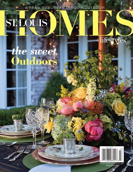 St. Louis Homes & Lifestyles Cover - 6/1/2018