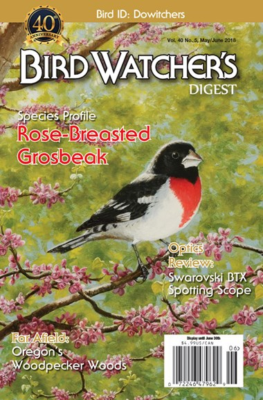 Bird Watcher's Digest Cover - 5/1/2018