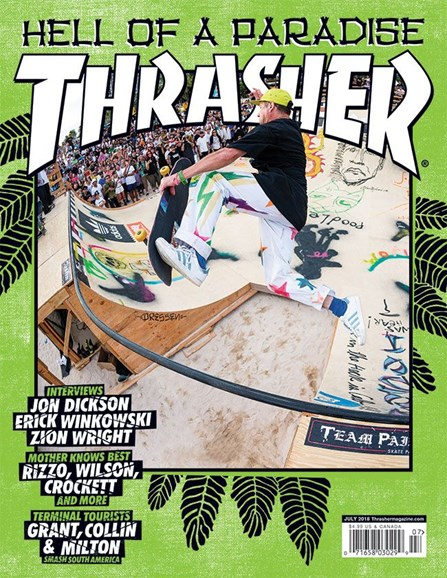 Thrasher Cover - 7/1/2018