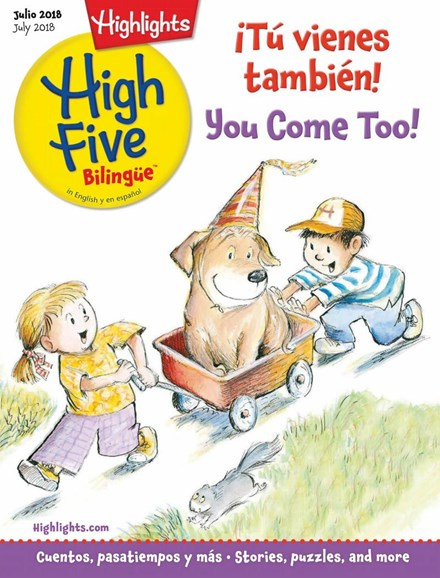 Highlights High Five Bilingue Cover - 7/1/2018