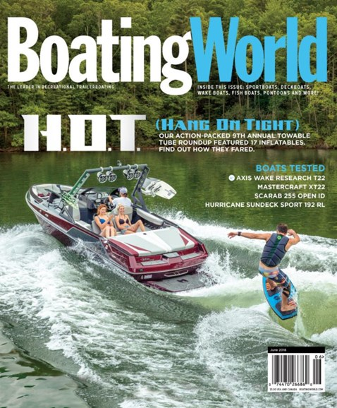 Boating World Cover - 6/1/2018