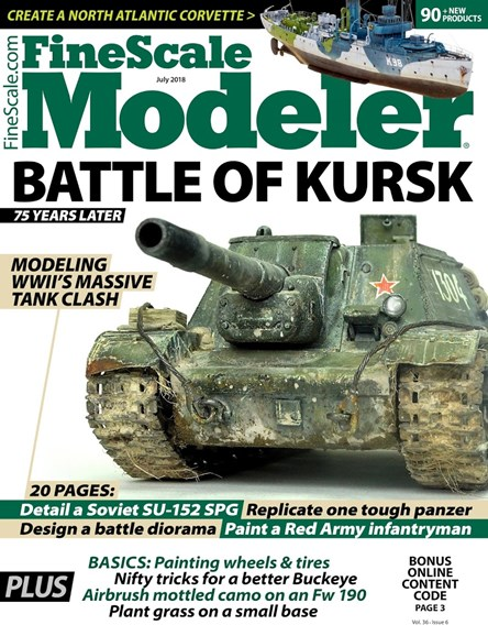 Finescale Modeler Cover - 7/1/2018