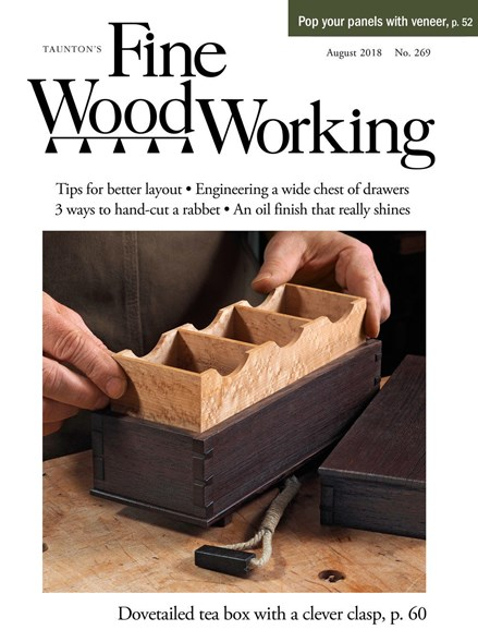 Fine Woodworking Cover - 8/1/2018