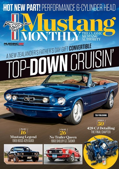 Mustang Monthly Cover - 7/1/2018