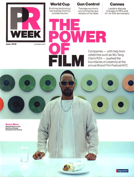 PRWeek Cover - 6/1/2018