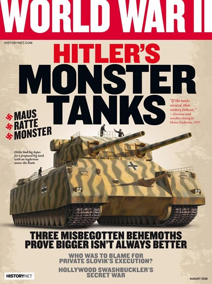 World War II Cover - 8/1/2018