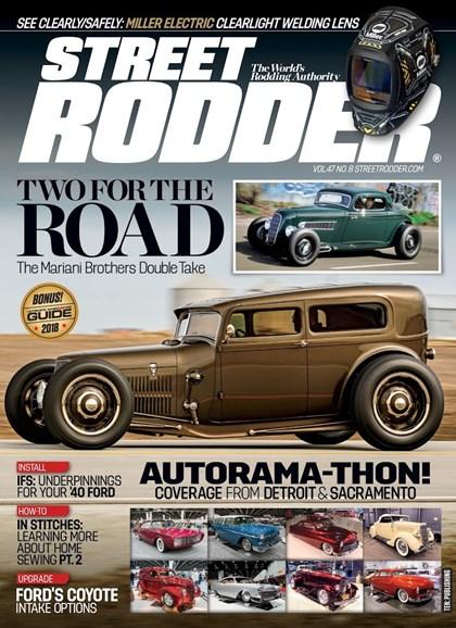 Street Rodder Cover - 8/1/2018