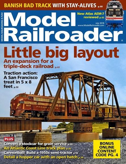 Model Railroader Cover - 7/1/2018