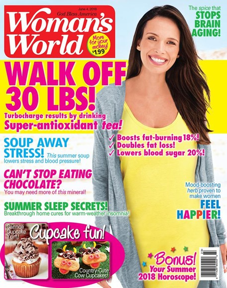 Woman's World Cover - 6/4/2018