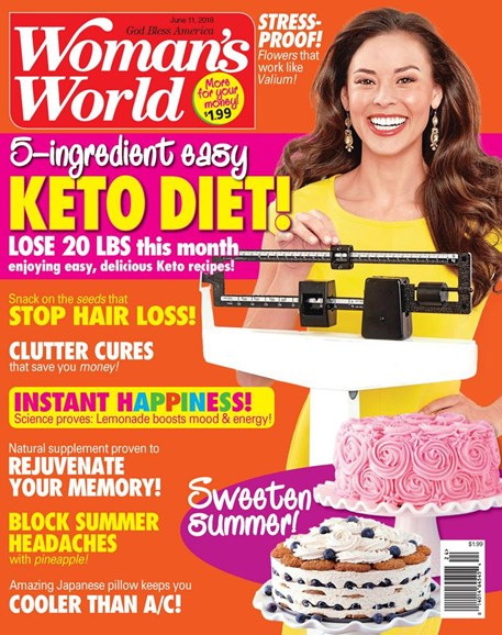 Woman's World Cover - 6/11/2018