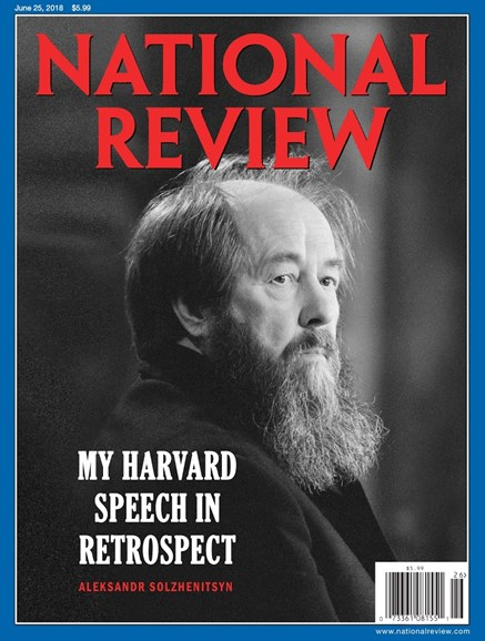 National Review Cover - 6/25/2018