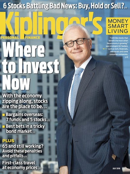 Kiplinger's Personal Finance Cover - 7/1/2018