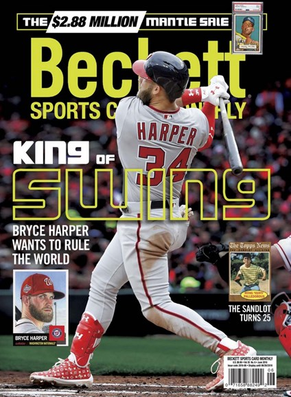 Beckett Sports Card Monthly Cover - 6/1/2018