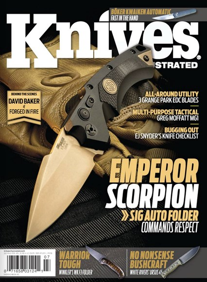 Knives Illustrated Cover - 7/1/2018