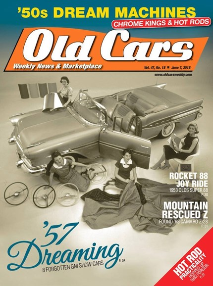Old Cars Cover - 6/7/2018