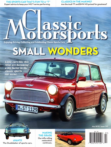 Classic Motorsports Cover - 7/1/2018