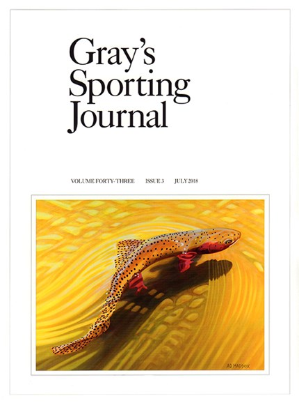 Gray's Sporting Journal Cover - 7/1/2018