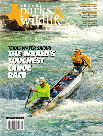 Texas Parks & Wildlife Cover - 6/1/2018