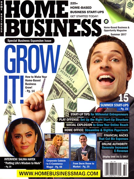 Home Business Magazine Cover - 8/1/2017