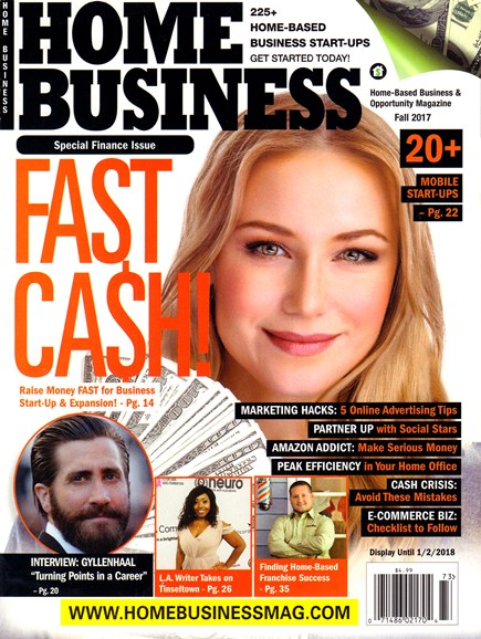 Home Business Magazine Cover - 10/1/2017
