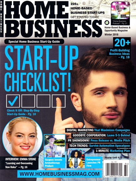Home Business Magazine Cover - 12/1/2017