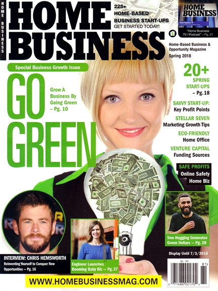 Home Business Magazine Cover - 3/1/2018